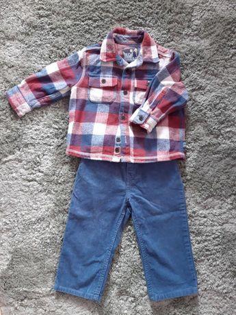 Штаны Ralph Lauren и рубашка Mothercare