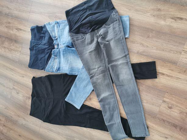 Spodnie ciążowe 3 pary