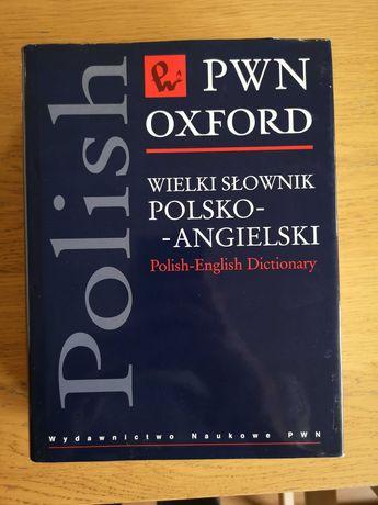 Słownik polsko - angielski PWN Oxford. Nowy.