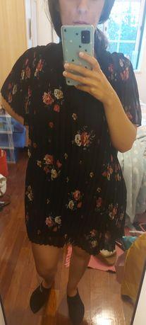 Vestido macacão zara
