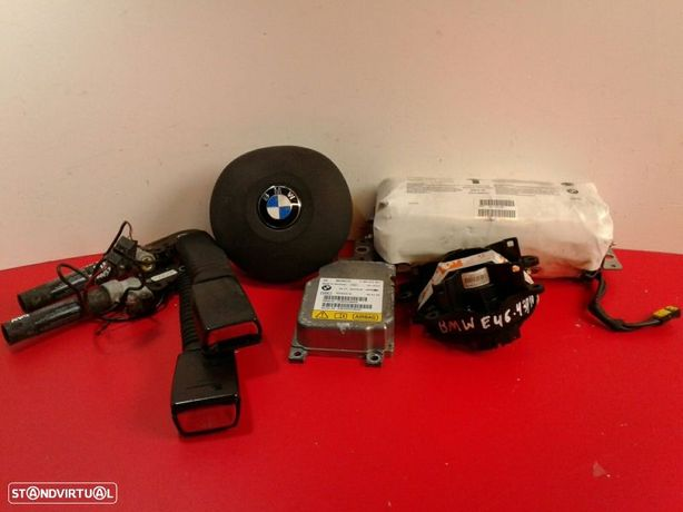 Conjunto / Kit De Airbags Bmw 3 Compact (E46)