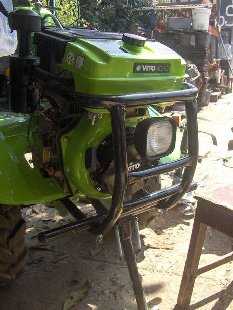 Motocultivador diesel com transmissão direta 12 CV,   frese