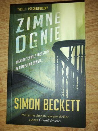 Simon Beckett - Zimne ognie