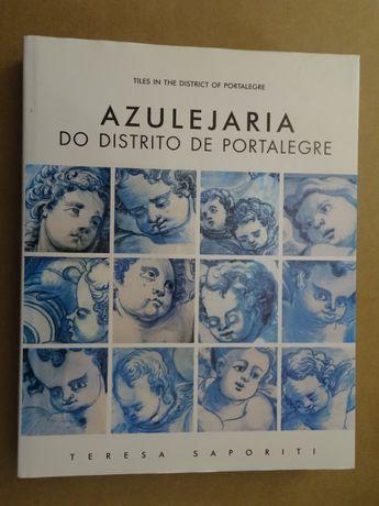 Azulejaria do Distrito de Portalegre de Teresa Saporiti