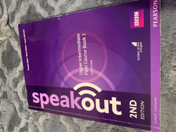 Speakout 2ed Upper Intermediate Flexi Course Book 1 with DVD-ROM