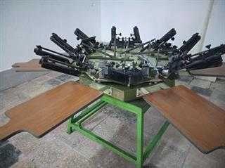 Conjunto de máquinas de Serigrafia