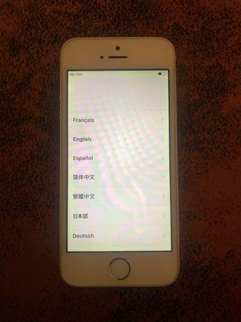iPhone 5S - 16 gb livre icloud e livre operadora