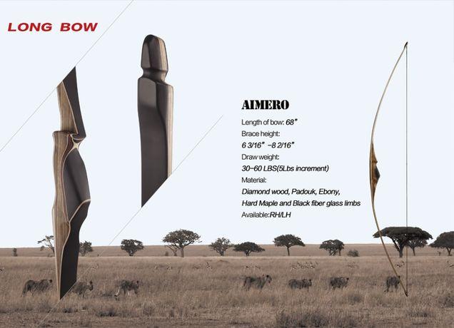 Akusta LONGBOW AIMERO Традиционный лук для стрельбы