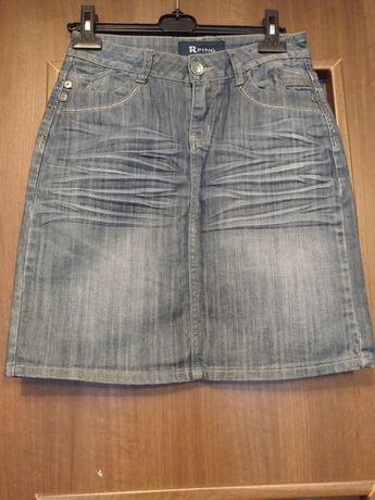 Jeansowe spódniczka