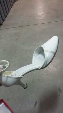 Piękne i wygodne buty ślubne! Idealny stan! 37