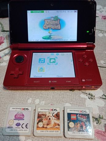 Nintendo 3 ds +gry. Animal crossing