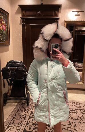 Зимнее пальто пуховик barbaris
