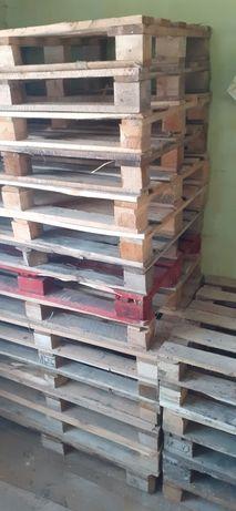 Palety drewniane całe raz użyte