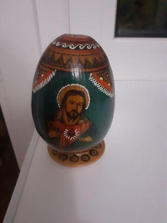 Сувенир деревянное яйцо икона
