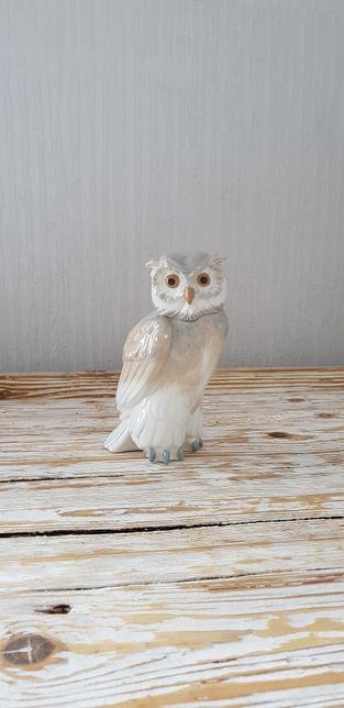 Nao Sowa figurka porcelanowa 17cm
