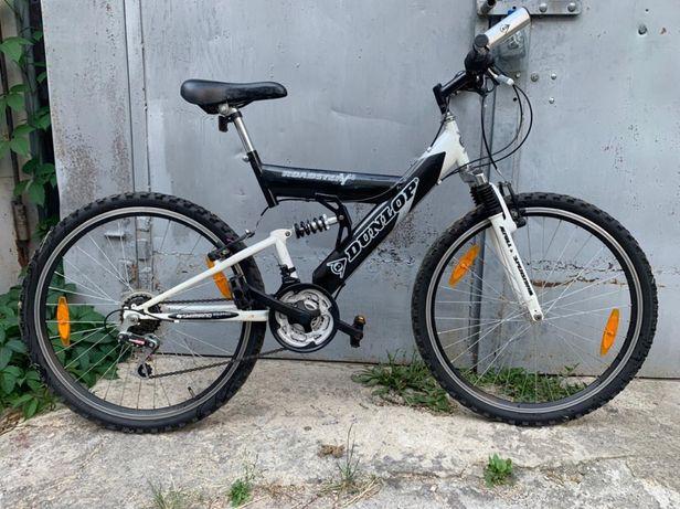 Велосипед на амортизаторах