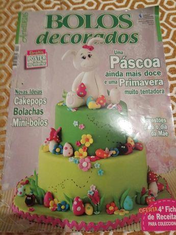Revistas de decoração de bolos
