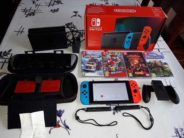 Nintendo Switch fajny zestaw z grami za okazyjną cenę - zobacz warto