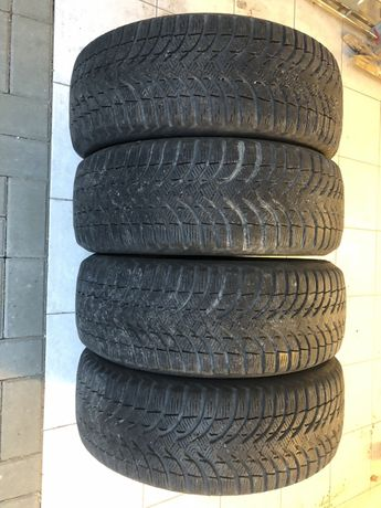 Opony zimowe Michelin Alpin A4, 195/55 R16, komplet 4 szt, super stan