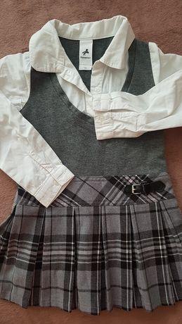 Sukienka do przedszkola r.104