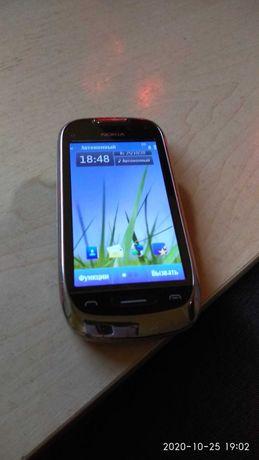 Nokia c7 в рабочем состоянии.