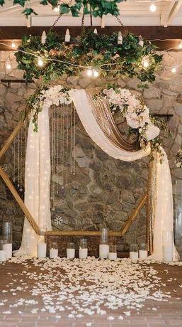 DEKORACJA sal i kościołów, ciężki dym stół wiejski,dekoracje ślubne