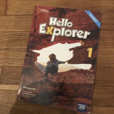 Hello Explorer 1 ksiazka angielskiego podręcznik