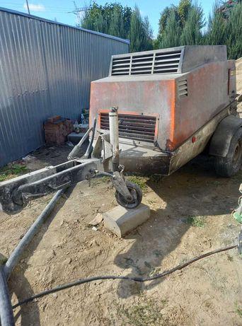 Pompa do betonu (miksokret)