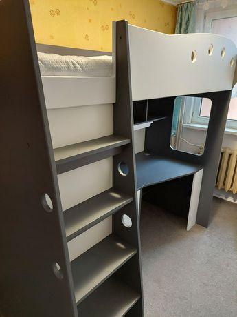 Łóżko piętrowe szafa biurko mebel wielofunkcyjny dziecięcy