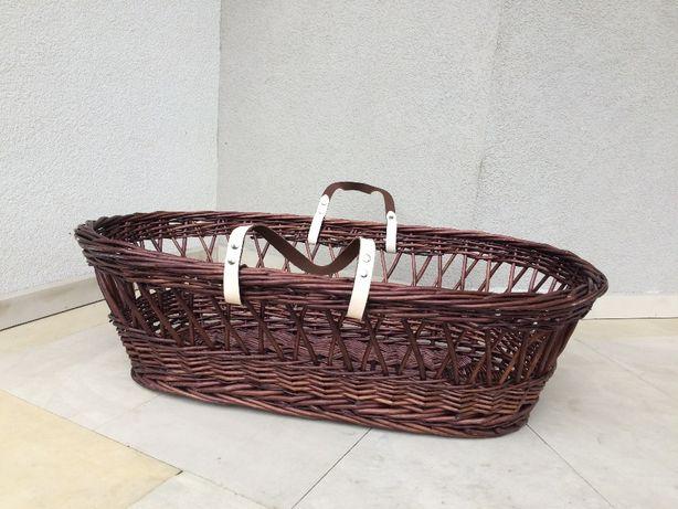 Kosz wiklinowy,koszyk dla dziecka Mothercare