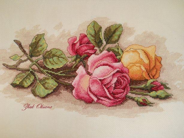 Продам копию схемы Dimensions 13720 Срезанные розы