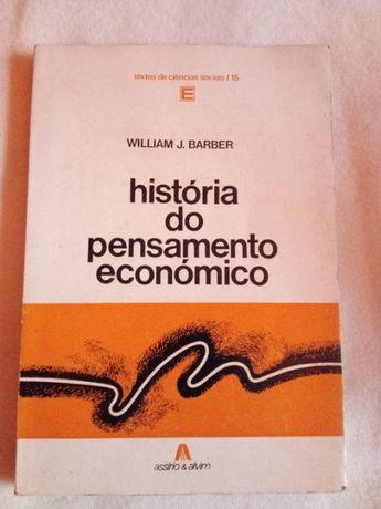 A historia do pensamento econômico William j.barber