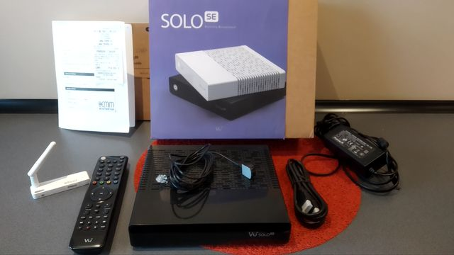 Dekoder satelitarny Vu+SOLO SE Wi-Fi
