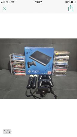 Ps3 playstation 3 500g plus gry