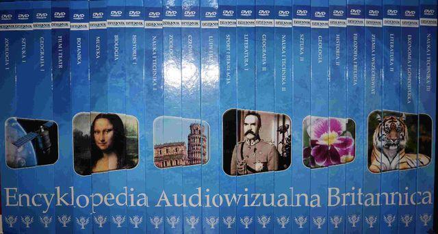 nowa Encyklopedia Audiowizualna Britannica Discovery 24 t + DVD unikat