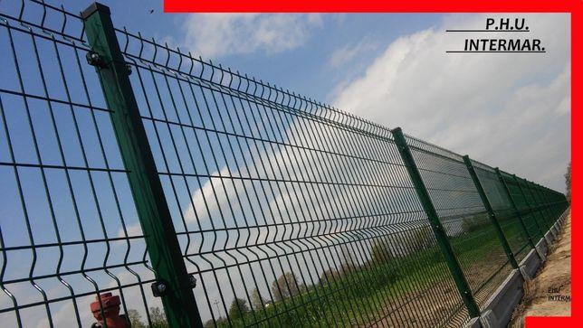 systemowe ogrodzenie panelowe 3d 120-200cm