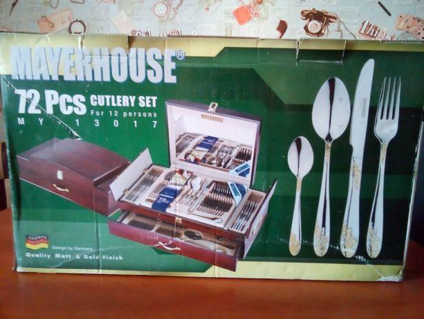 Продам набор столовых предметов (72 предмета) Mayerhouse
