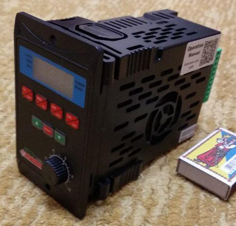 Частотный преобразователь 220в. токарный, сверлильный станок.