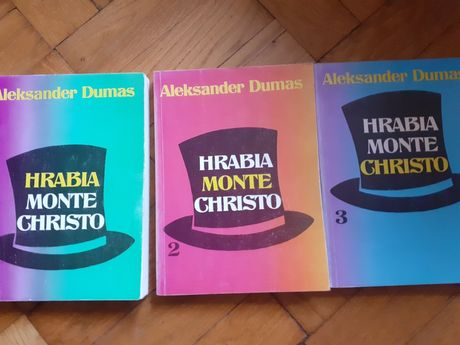 Hrabia  Monte Christo 3  tomy Aleksander Dumas