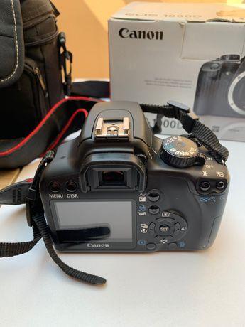 Lustrzanka Canon EOS 1000D - Świetny stan