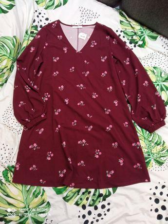 Nowa sukienka trapezowa, Terranova, rozm. XL