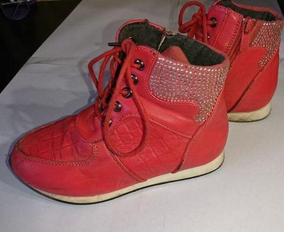 ботинки на девочку деми