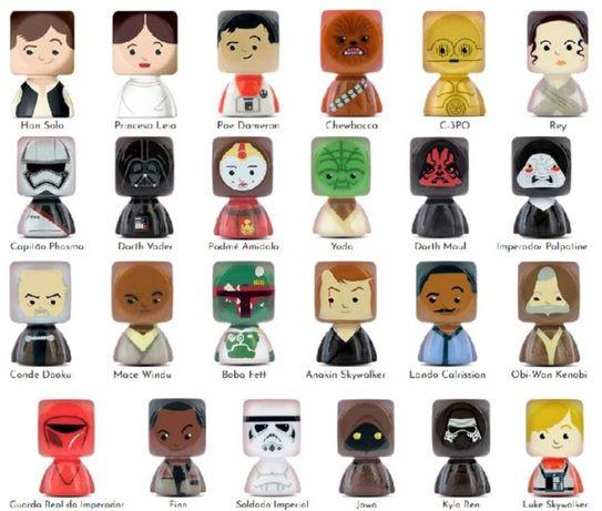 Star Wars bustz - Colecção completa