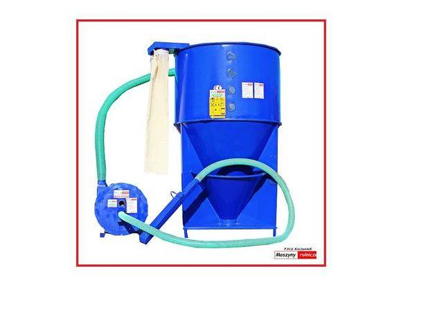 ZESTAW do produkcji PASZ mieszalnik pasz 1,2 t + śrutownik 11 kW