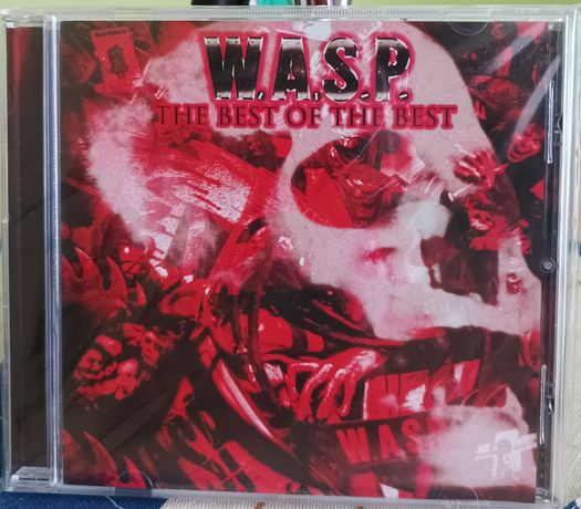 CD W.A.S.P.- THE BEST OF THE BEST 1984>2000. Heavy Metal USA. Rarytas.
