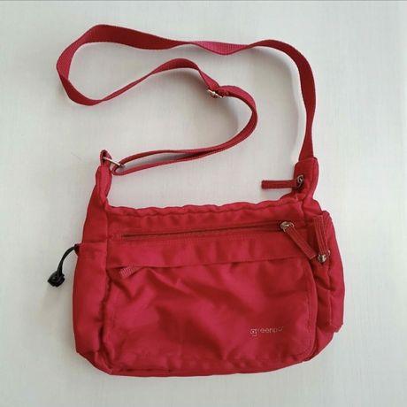 Mała czerwona torebka listonoszka Greenpoint