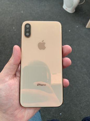 Оригинальный Корпус для iPhone XS Gold