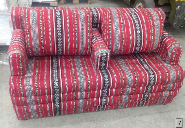 Kanapa sofa wersalka orientalna 2 sztuki