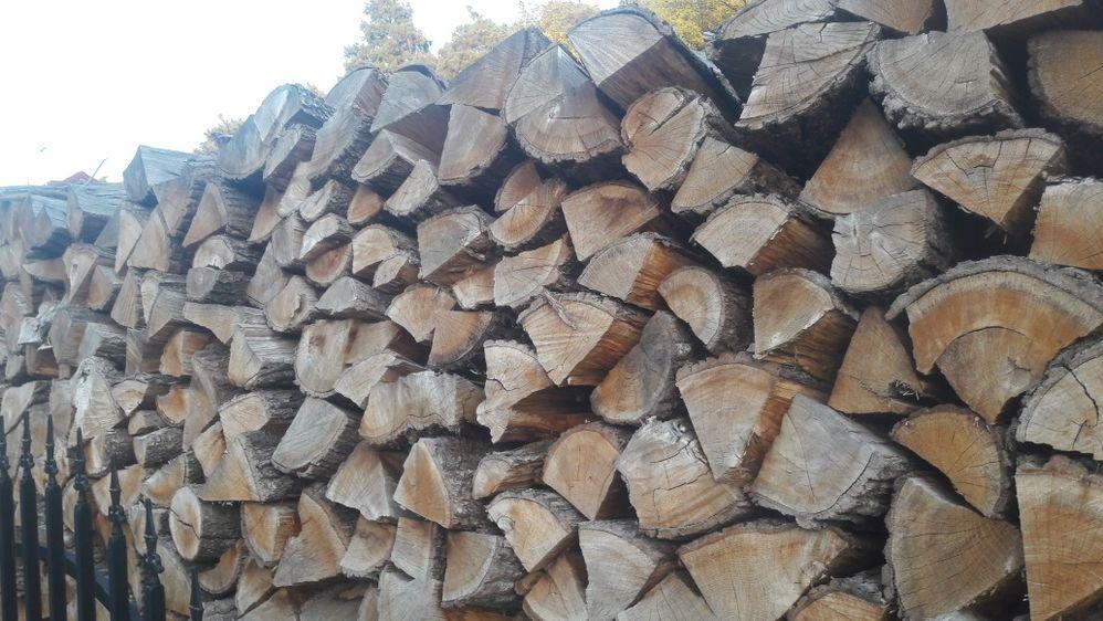 Drewno opałowe suche