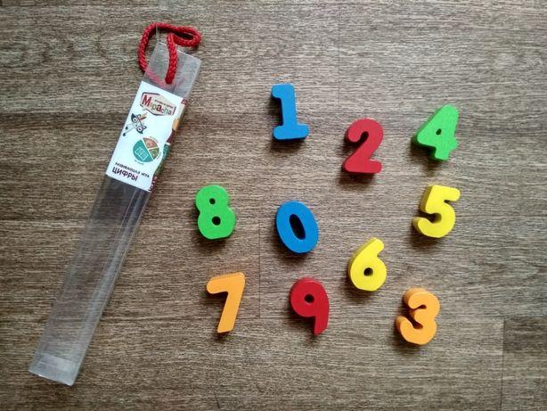 Набор деревянных цифр Mapacha